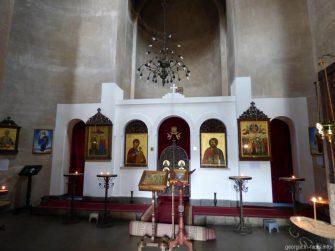 Алтарь в Вознесенском соборе Ахалциха