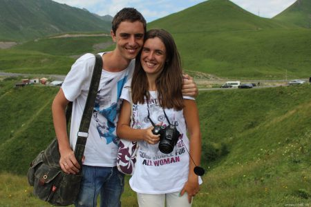 Авторы путеводителя по Грузии Виктор и Алина Пашинские