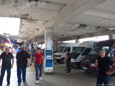 Автовокзал в городе Батуми