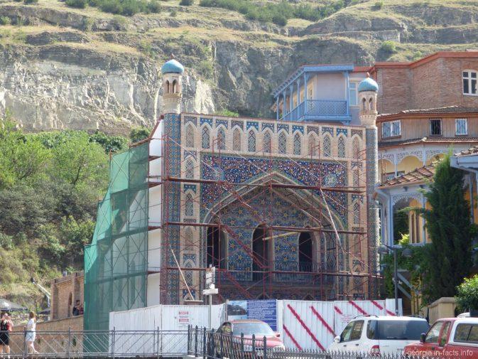 Баня, где мылся сам Пушкин, Тбилиси
