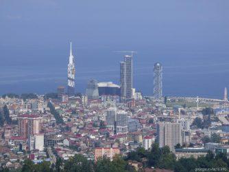 Башня грузинского алфавита и другие высотки Батуми