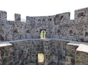Башня крепости Гонио - горная Аджария