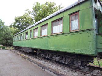 Бронированный личный вагон Сталина, Грузия