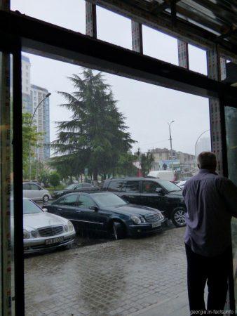 Дождь в Батуми