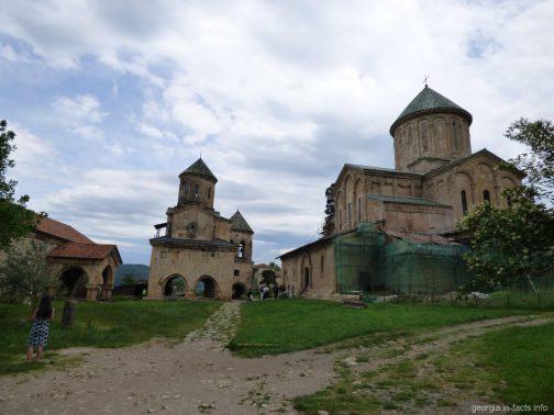 Гелатский монастырь в Кутаиси, Грузия