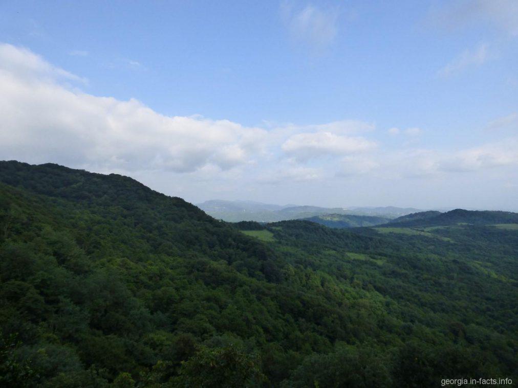 Горные пейзажи в Сатаплия