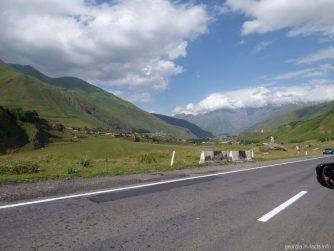 Горы Кавказа на Военно Грузинской дороге