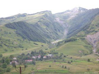 Горы на Военно Грузинской дороге
