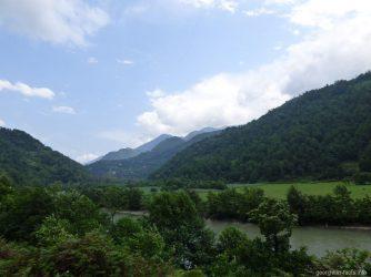 Грузинские горы в Аджарии