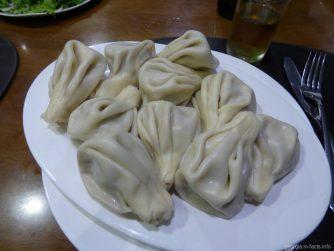 Хинкали в ресторане Кутаиси