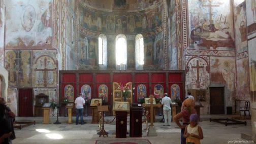 Храм Святого Георгия внутри