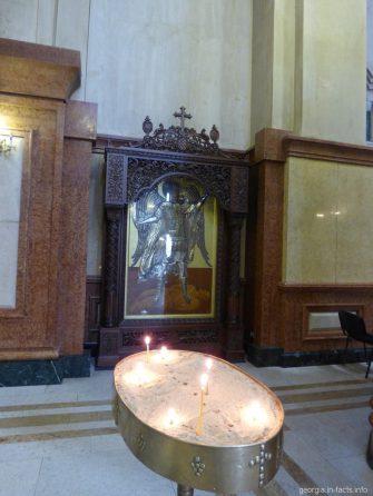 Икона Георгия Победоносца в Самебе