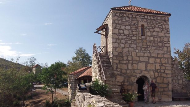 Итальянская и черногорская архитектура в Моцамета
