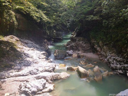 Каньон Мартвили экскурсия из Батуми