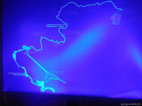 Карта пещеры Прометея