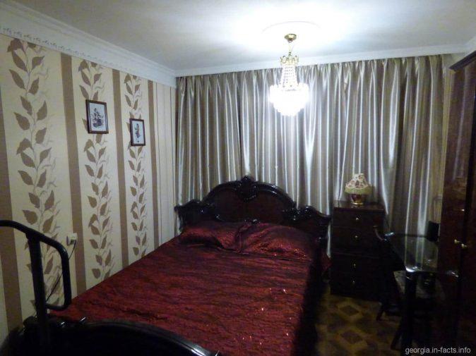 Комната, где мы ночевали в Батуми