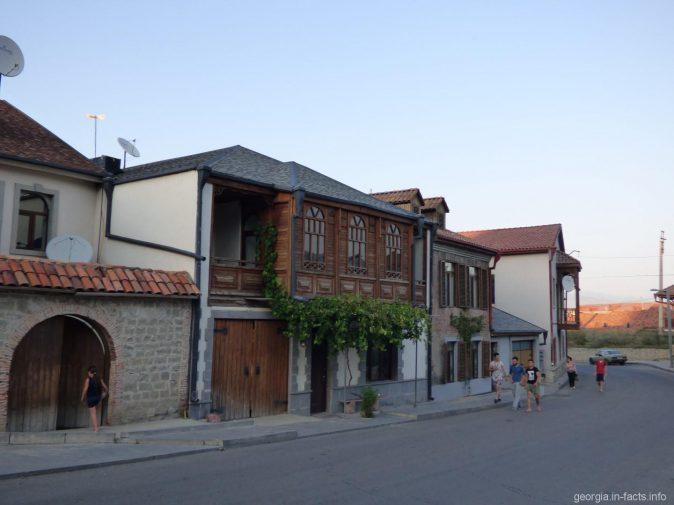 Красивые здания в Ахалцихе