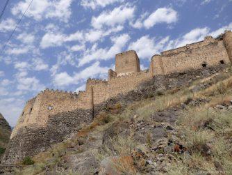 Крепость Хертвиси рядом с Вардзией