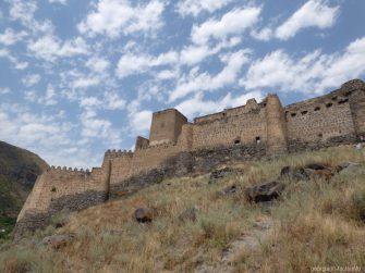Крепость Хертвиси рядом с городом Ахалцихе
