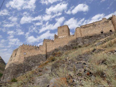 Крепость Хертвиси в Грузии