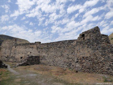 Крепость Хертвиси внутри