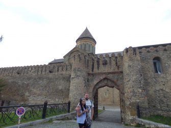 Крепость в Мцхете, Грузия