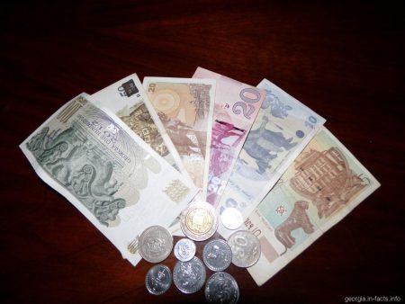 Лари национальная валюта Грузии