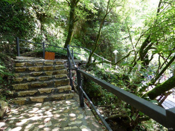 Лестницы в Мартвили