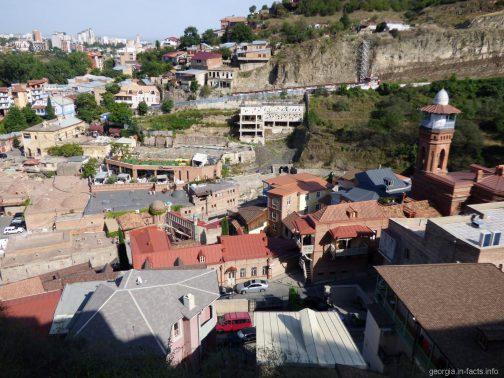 Мечеть Джума в районе серных бань в Тбилиси