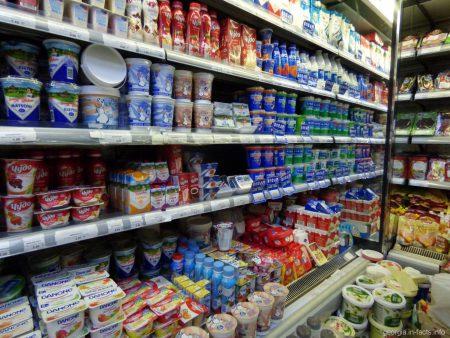 Молочная продукция в Грузии