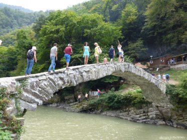 Мост времен царицы Тамары в горной части Аджарии