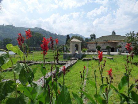 Музей на территории крепости Гонио