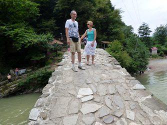 На самом мосте царицы Тамары