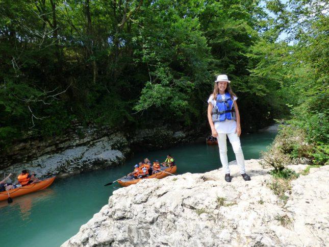 Начало каньона Мартвили