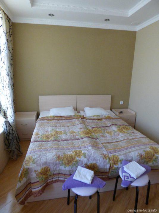 Наша комната в гестхаусе в Ахалцихе