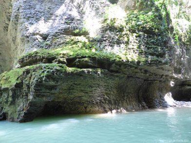 Необычный каньон в Грузии