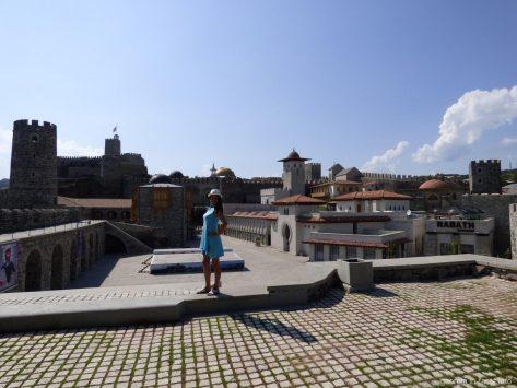Нижняя часть крепости Рабат в Ахалцихе