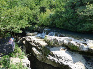 Обзорные площадки в каньоне Мартвили