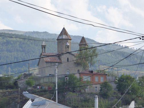 Одна из церквей в городе Ахалцих