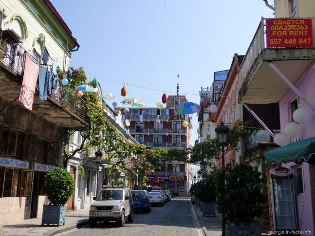 Одна из улиц Батуми