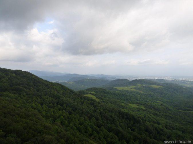 Панорама с смотровой площадки Сатаплия
