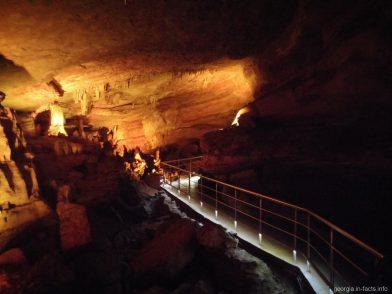 Пещера Сатаплия рядом с Кутаиси