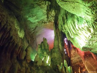 Пещера Сатплия внутри