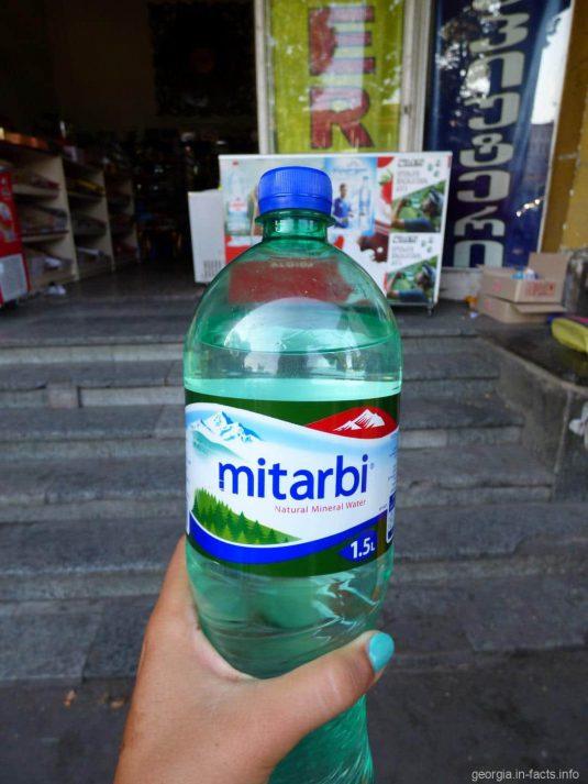 Питьевая вода в Тбилиси