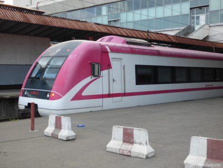 Поезд Батуми-Тбилиси