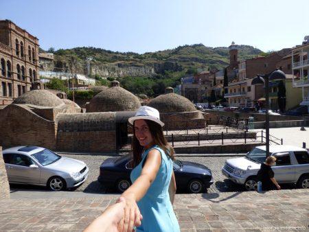 Поход по серных баням Тбилиси