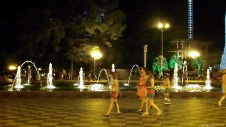 Поющие фонтаны Батуми