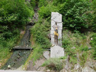 Прометей в национальном парке Боржоми, Грузия