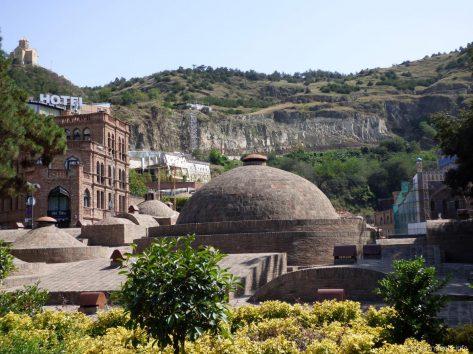 Район серных бань в Тбилиси