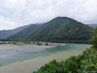 Реки Чорохи и Аджарисцхали в Аджарии